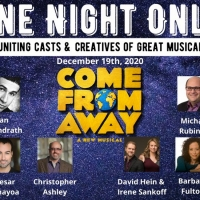 COME FROM AWAY Creative Team, Producers, and International Cast to Reunite For 'One Night Photo