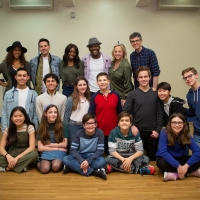 Photo Flash: The Company of TREVOR Heads Into Rehearsal Photos