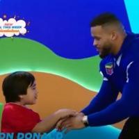 LA Rams' Aaron Donald Appears on Children's Show RYAN'S MYSTERY PLAYDATE Photo