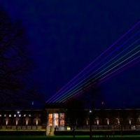 Festival of Light Installations GLOW Opens With Global Rainbow Photo