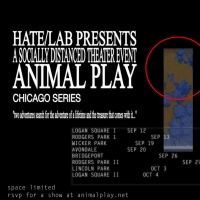 HATE/LAB Presents Socially Distanced Live Show ANIMAL PLAY Photo