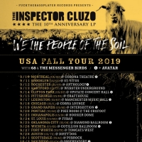 The Inspector Cluzo Announces Fall Tour