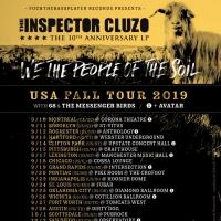 The Inspector Cluzo Announces Fall Tour Photo