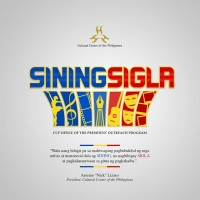 Cultural Center of the Philippines Launches Outreach Program SINING SIGLA Photo