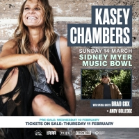Kasey Chambers Takes Melbourne's Sidney Myer Music Bowl on March 14 Photo
