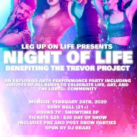 NIGHT OF LIFE Comes to Sony Hall Benefiting The Trevor Project