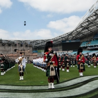Anz Stadium Rings With The Sound Of Bagpipes and Drums As Record-Breaking Production Enters Final Rehearsal
