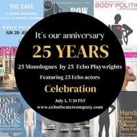Echo Theater Company Announces 25th Anniversary Onstage Season Photo