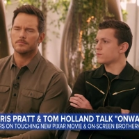 VIDEO: Chris Pratt & Tom Holland Talk ONWARD on GOOD MORNING AMERICA Photo