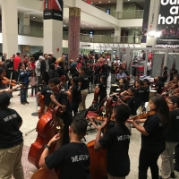 Paterson Music Project Performs At Prudential Center For NJ Devils Game Photo