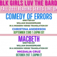 Blk Girls Luv the Bard Announces 2021 Fall Virtual Reading and Community Conversation Series