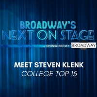 Meet the Next on Stage Top 15 Contestants - Steven Klenk