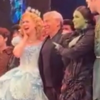 VIDEO: Composer Stephen Schwartz Joins the Cast of WICKED for Opening Night Bows! Photo
