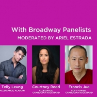 Telly Leung, Courtney Reed Join UNAPOLOGETICALLY ASIAN Digital Panel