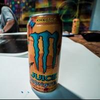 MONSTER ENERGY and Legendary Street Artist Risk Create A Juice Monster 'Khaotic' Inspired Photo