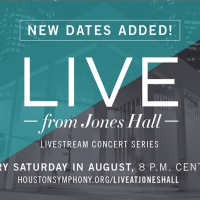 Houston Symphony Announces Its LIVE FROM JONES HALL Lineup For August Photo