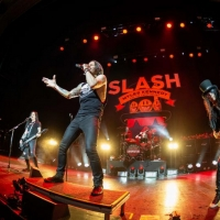 Slash Ft Myles Kennedy And The Conspirators Debut 'Shadow Life' Off Forthcoming 'Living The Dream Tour,' Live Concert Due Out September 20