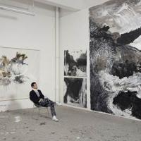 Shen Wei's Painting In Motion Exhibition Opens At Isabella Stewart Gardner Museum Photo
