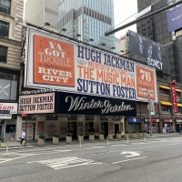 Up on the Marquee: THE MUSIC MAN Prepares for Broadway's Return at the Winter Garden  Photo