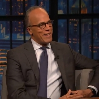 VIDEO: Lester Holt Says All Bets Are off in the Trump Impeachment Trial on LATE NIGHT Photo