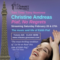 Christine Andreas sings 'Piaf, No Regrets' from the Cabaret Project St. Louis Article