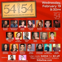 BWW Interview: The 54 Below Staff of 54 DOES 54: THE FEINSTEIN'S/54 BELOW STAFF SHOW  Photo
