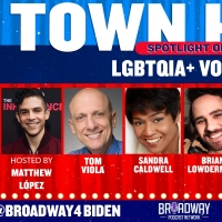 Sandra Caldwell, Brian Lowdermilk and Tom Viola Join Matthew López for Next Broadway for B Photo