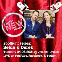 A LITTLE NEW MUSIC's SPOTLIGHT SERIES Presents Selda Sahin and Derek Gregor Photo