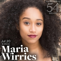 Maria Wirries Brings Solo Show to Feinstein's/54 Below This July Article