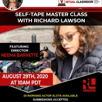 The Richard Lawson Studios Master Class Series Will Close August With Director Neema  Photo