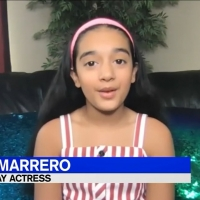 VIDEO: Suri Marrero, Former 'Young Elsa' in FROZEN on Broadway, Helps Raise Money for Photo