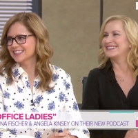 VIDEO: Watch Jenna Fischer & Angela Kinsey Talk Their New OFFICE Podcast on TODAY SHOW