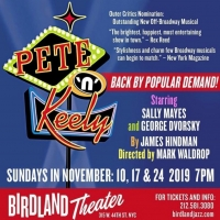 BWW Interview: Sally Mayes And George Dvorsky of THE RETURN OF PETE N KEELY at Birdla Photo