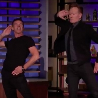 VIDEO: Antonio Banderas Teaches Conan Choreography From A CHORUS LINE Video