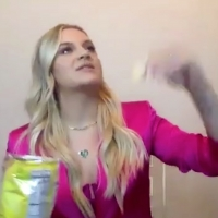 VIDEO: Kelsea Ballerini Plays the Potato Chip Olympics on THE LATE LATE SHOW Photo