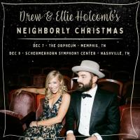 Drew & Ellie Holcomb Announce Neighborly Christmas Shows Photo