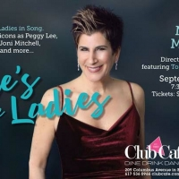 Marieann Meringolo Makes Boston Debut When HERE'S TO THE LADIES Plays The Club Cafe S Photo