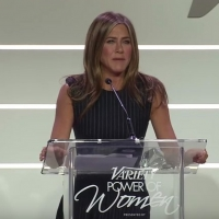 VIDEO: Jennifer Aniston Gives Speech at Variety's Power of Women Luncheon