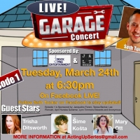 Local Singers Perform Live On Facebook In Garage Concert Photo