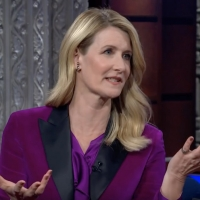 VIDEO: Laura Dern Talks Her Relationship with Baby Yoda on THE LATE SHOW WITH STEPHEN COLBERT