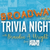 Brandon A. Wright Hosts Broadway Online Trivia Night for State Theatre New Jersey Photo