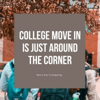 Student Blog: How I am Preparing for College Move-In Photo