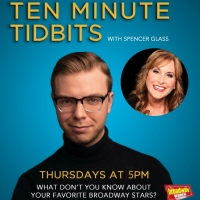 WATCH: Ten Minute Tidbits with Spencer Glass and Guest Jodi Benson - Thursday at 5pm ET! Photo