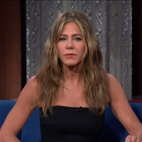 VIDEO: Jennifer Aniston Talks About Her Time as a Waitress on THE LATE SHOW WITH STEPHEN COLBERT