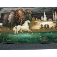 MINIATURE MASTERPIECES: RUSSIAN LACQUERED BOXES Opens October 30 At Museum Of Russian Photo