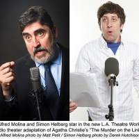 Alfred Molina and Simon Helberg to Headline THE MURDER ON THE LINKS Audio Production Photo