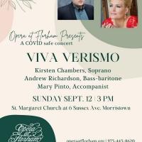 Opera At Florham Presents Viva Verismo: Exploring The Realness In Opera Photo