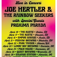 Joe Hertler & The Rainbow Seekers Will Stop in Greenville on April 28th Photo