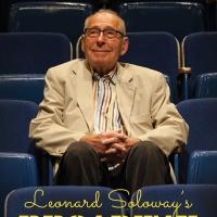LEONARD SOLOWAY'S BROADWAY to Premiere in NYC Nov. 4-7