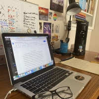 BWW Blog: In My Own Little Corner - Creating A Workspace Photo